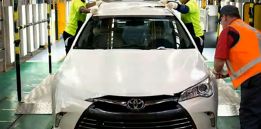 2015 Camry production line