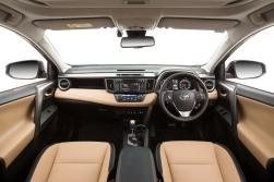 2015 Toyota RAV4 Cruiser (beige interior shown)