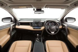 2015 Toyota RAV4 Cruiser (beige interior shown)