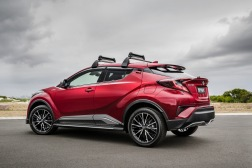 2017 Toyota C-HR with Toyota Genuine Accessories