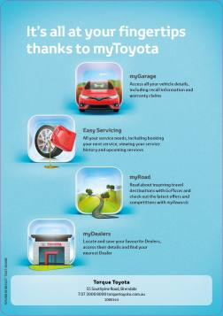 myToyota A5 back page SP