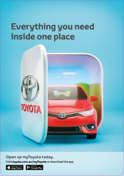 myToyota A5 front page